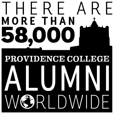 there are more than 58,000 providence college alumni worldwide